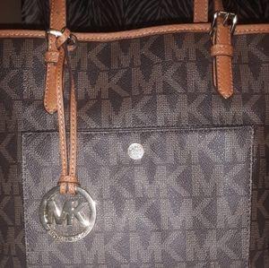 Authentic signature Michael Kors Handbag/purse